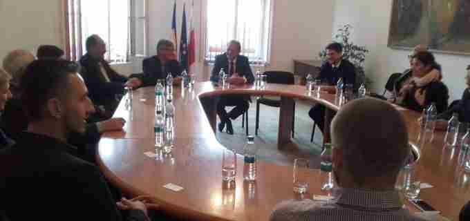 Primarul Cristian Matei a fost gazda unei delegaţii de investitori din Polonia