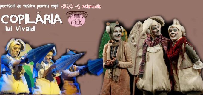 """""""Copilăria lui Vivaldi"""", cel mai frumos spectacol pentru copii, în premieră la Cluj"""