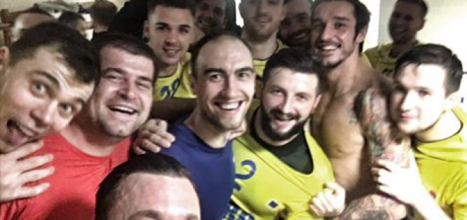 Cîntec, Lazăr și Pavel au câștigat cu echipa națională la Belarus. Tricolorii s-au impus cu 26-23