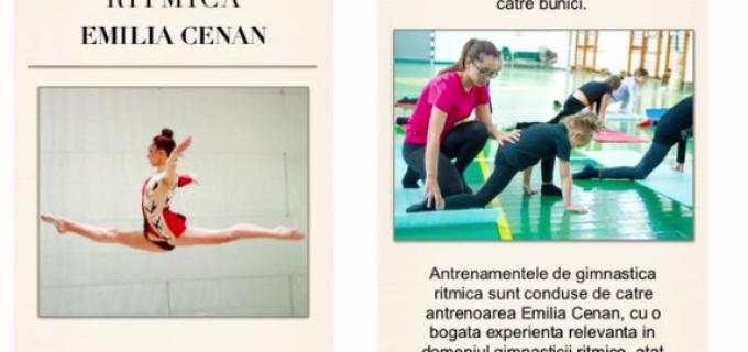 Cursuri de gimnastică ritmică la TURDA și Câmpia Turzii