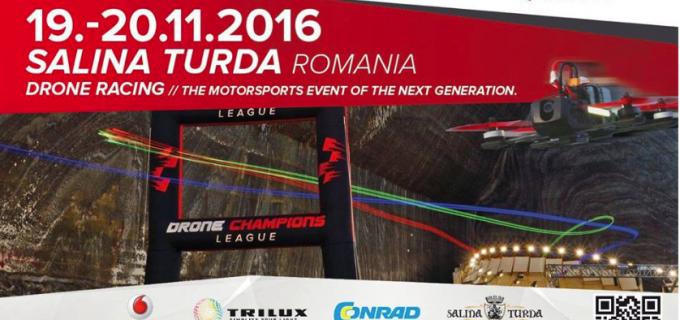 Titi Aur și Gheorghe Buhnici vin la Salina Turda pentru a comenta Drone Champions League