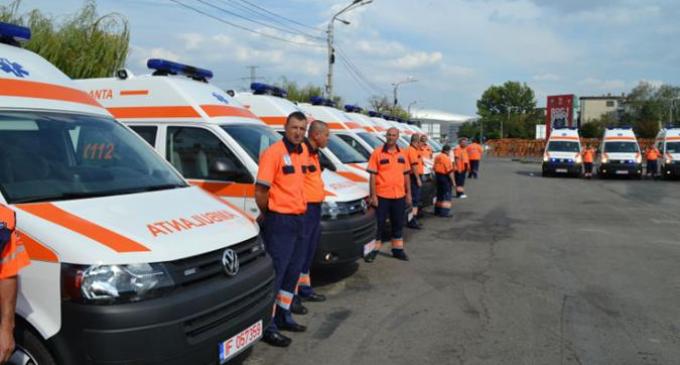 Fonduri europene pentru achiziţia de ambulanţe noi. Peste 1300 de ambulante noi pentru judetul Cluj.