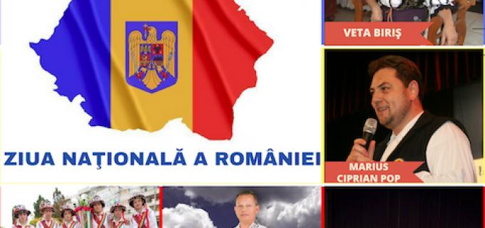 Câmpia Turzii – Programul manifestărilor prilejuite de Ziua Națională a României, 1 decembrie
