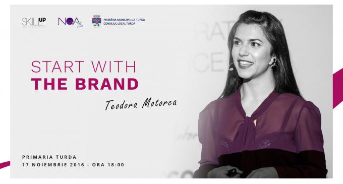 "Conferință despre branding la Primăria Turda: Skill Up – ""Start with the Brand!"""