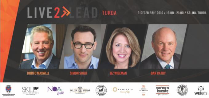 "Salina Turda găzduiește conferința Skill UP ""Live2Lead Turda!"""