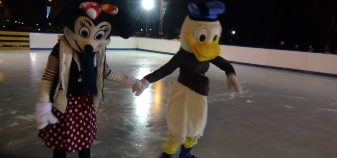 "Video: final de ""sezon"" la patinoarul din Turda"