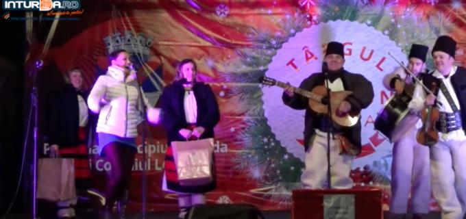 VIDEO: Spectacol folcloric și focuri de artificii la Târgul de Crăciun Turda