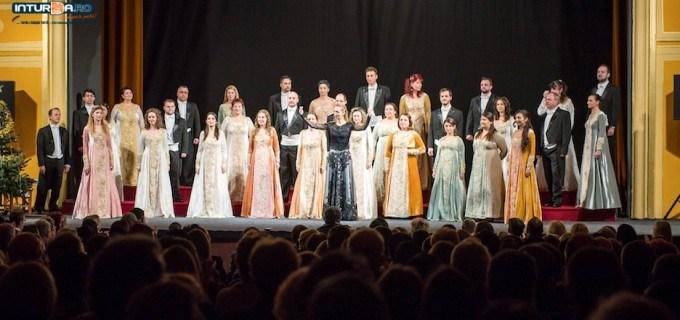 "VIDEO/Foto: Concert extraordinar la Teatrul ""Aureliu Manea"" Turda – Corul Național MADRIGAL"