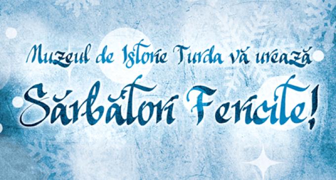 Mesaj de sărbători din partea echipei de la Muzeul de Istorie Turda!