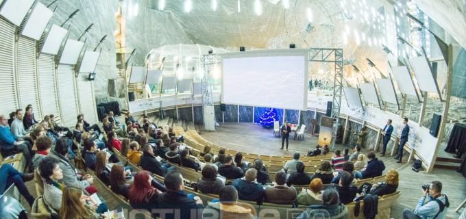 "Album FOTO: Skill Up ""Live2Lead"" Turda a adunat peste 140 de participanți la Salina Turda"