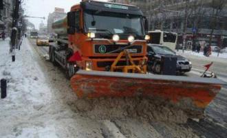 Nu mai puțin de 94 de drumuri sau sectoare de drumuri județene pe care s-a intervenit pentru combaterea poleiului sau a ghețușului