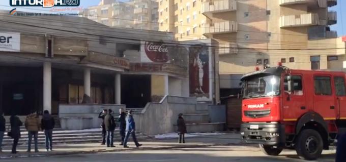 VIDEO: Incendiu la Cinematograful Tineretului