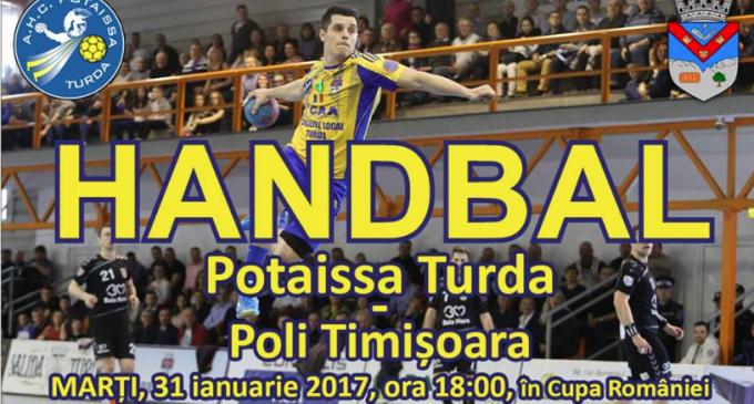 Potaissa Turda – Poli Timișoara. Primul meci oficial din acest an pentru magnificii de la Turda!