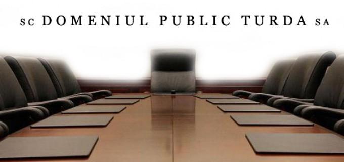 Anunt de recrutare si selectie pentru postul de Director General la Domeniul Public Turda