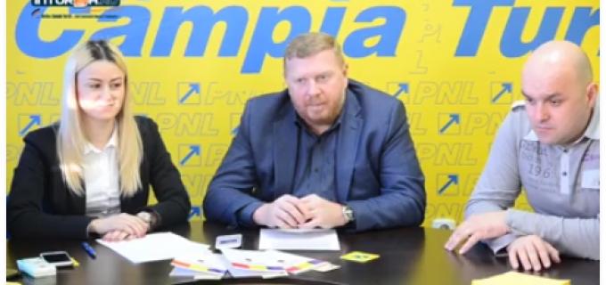 """Video/Foto: """"Iubește Constituția! Iubește România!"""", acțiune TNL Câmpia Turzii cu ocazia zilei de Dragobete"""