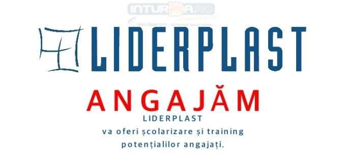 Locuri de muncă LIDERPLAST – Operatori prelucrare date. Se ofera școlarizare potențialilor angajați