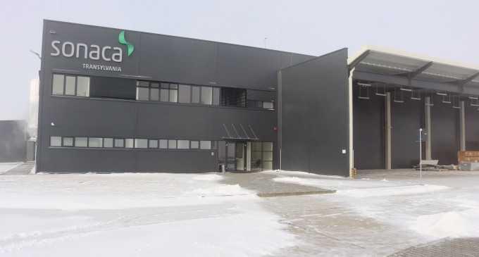 Compania belgiană Sonaca își deschide oficial fabrica din Moldovenești, Cluj!
