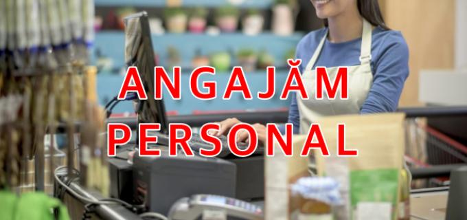 ANGAJĂRI – 11 posturi vacante la un Supermarket din Turda: