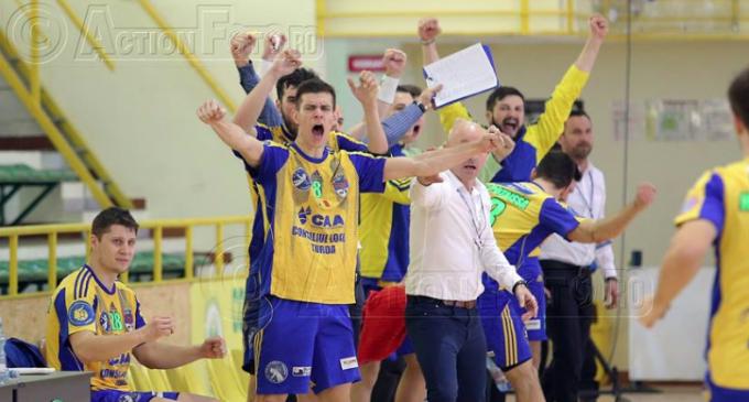 Handball Esch ASBL VS AHC Potaissa Turda 27-31. VICTORIE pentru turdeni în cadrul optimilor de finală ale Cupei Challenge.