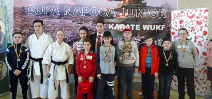 CS Samurai Turda a cucerit 10 medalii la Cupa Napoca Junior 2017