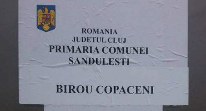 Primăria Săndulești a deschis un birou în satul Copăceni pentru eficientizarea operatiunilor