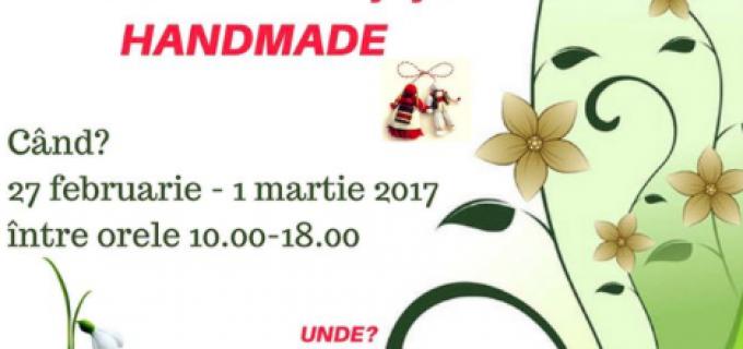 Primăria şi Consiliul Local al municipiului Câmpia Turzii organizează prima ediţie a Târgului de Mărţişor Handmade