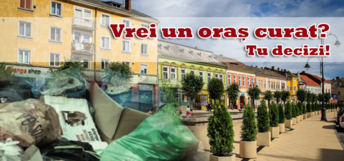 Primăria Municipiului Turda începe curățenia generală! În 1 martie se da startul unei ample campanii de ecologizare