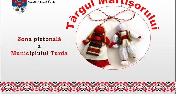 """Primăria Turda organizează """"Târgul Mărțișorului"""", în perioada 1 – 8 Martie 2017"""
