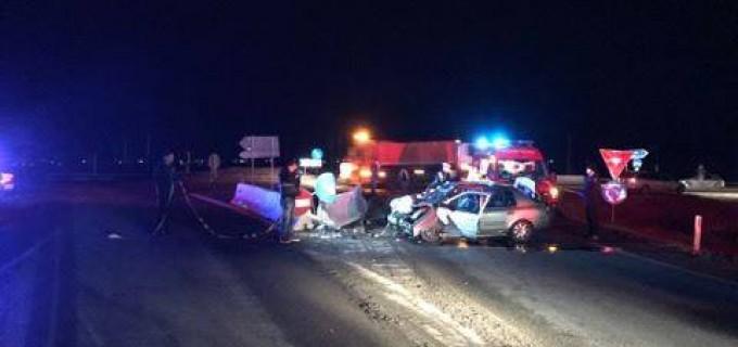 Video/Foto: Accident grav pe centura de la Apahida. Șoferul avea permisul reținut pentru conducere sub influența alcoolului.