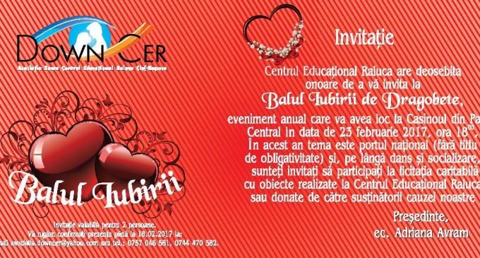 """""""Balul iubirii"""" organizat de Asociația Down – Centrul Educațional Raluca"""