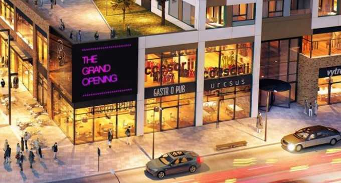 La Cluj se pregătește deschiderea Mall-ului Platinia