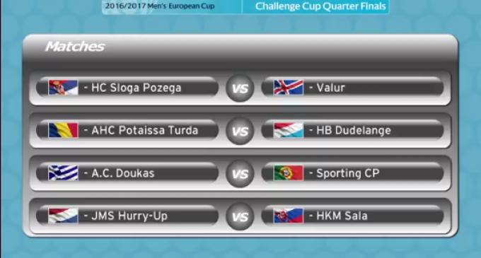 S-a stabilit adversarul Potaissei Turda în sferturile de finală ale Cupei Challenge