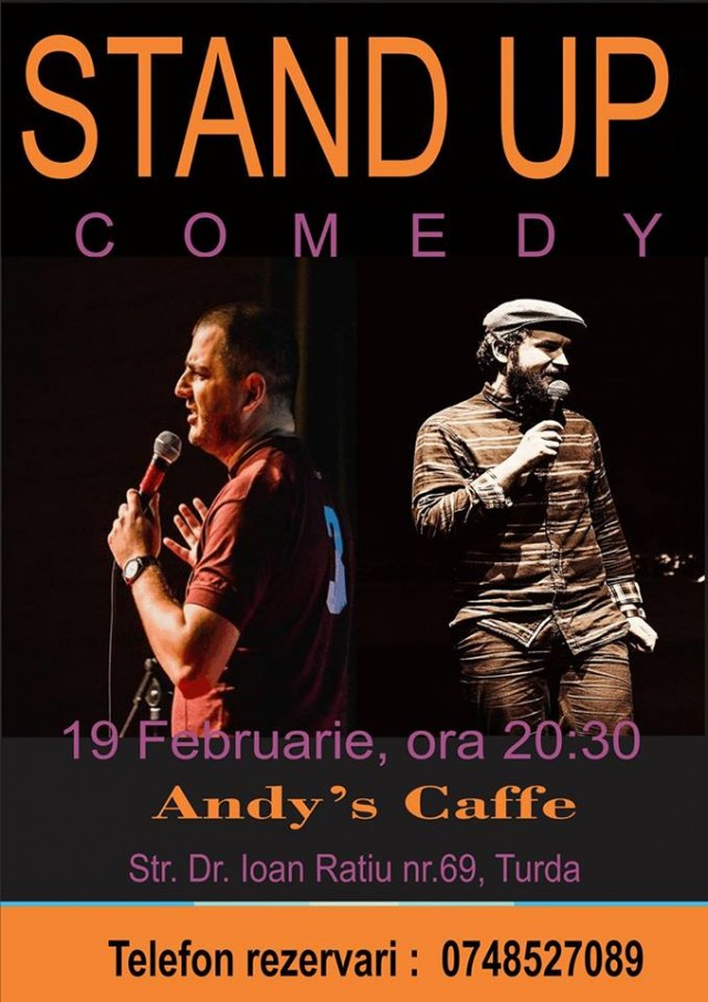 stand up comedy andy caffe