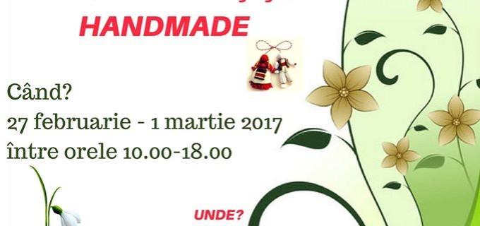 Prima ediţie a Târgului de Mărţişor Handmade la Câmpia Turzii pentru promovarea produselor create de copii și tineri din cadrul ong-urilor locale