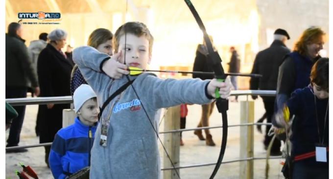 VIDEO: A 3-a ediție a Concursului inedit de Tir cu Arcul în subteran a avut loc la Salina Turda