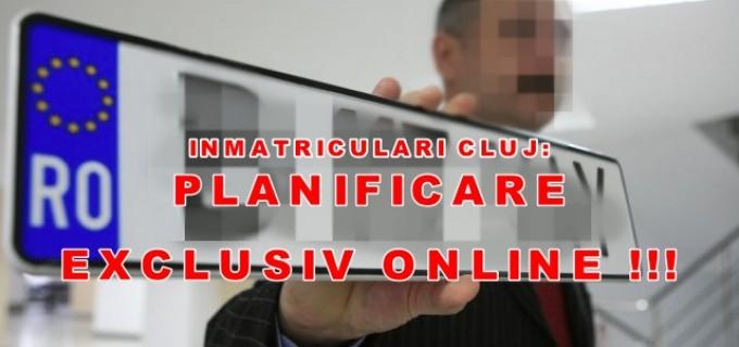 Atenție, șoferi! Programari EXCLUSIV online la Serviciul de Inmatriculari Auto din Cluj!