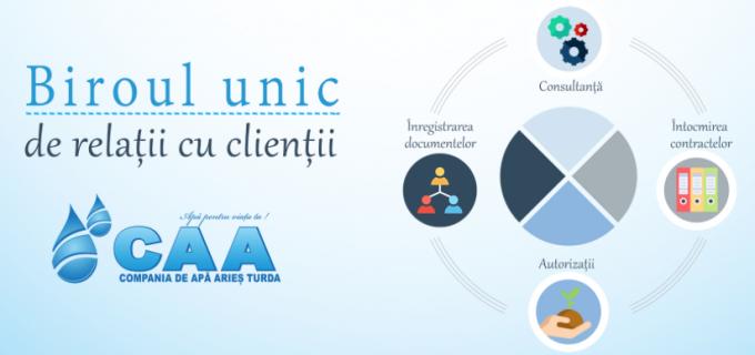 Birou unic de relații cu clienții la CAA