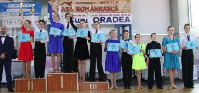 Dansatorii turdeni au cucerit 14 medalii la Cupa Oradea