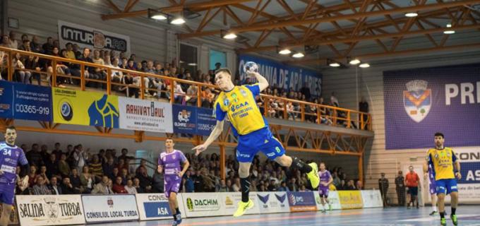 Fanii au decis: turdeanul Roland Thalmaier este cel mai bun tânăr jucător al Ligi Naționale de Handbal Masculin!