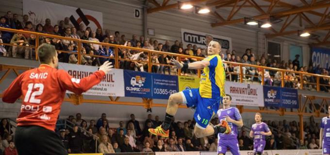Potaissa rămâne aproape de Dinamo în Liga Zimbrilor. Turda – Poli Timișoara 31-25