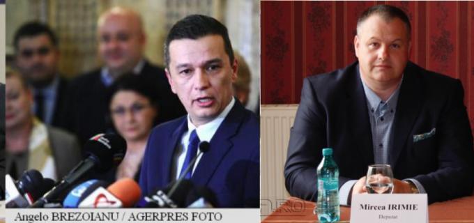 Exclusiv: Sorin Grindeanu l-a numit pe Mircea Irimie secretar de stat!