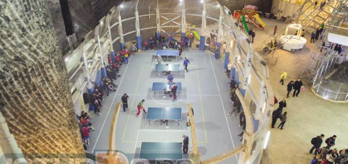 """În acest weekend la Turda: """"Cupa Salina Turda"""" la tenis de masă, ediția a V-a!"""