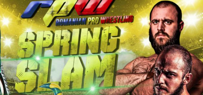 Romanian Pro Wrestling vă invită la Spring Slam în data de 18 martie la Sala Armonia Edelweiss din Cluj-Napoca