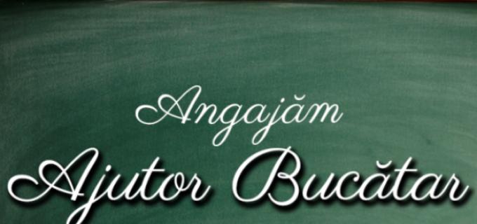 Restaurant din zona Turda angajează: AJUTOR BUCĂTAR