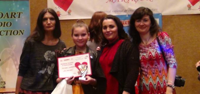 VIDEO: Daciana Constantea din Câmpia Turzii a câștigat Festivalul Internațional Marțior 2017