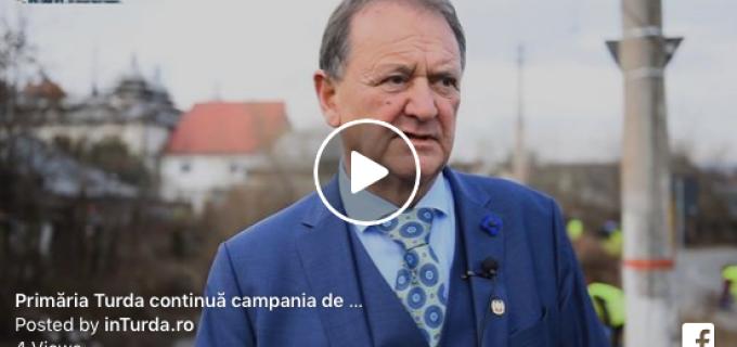 Primăria municipiului Turda continuă campania de curățenie generală