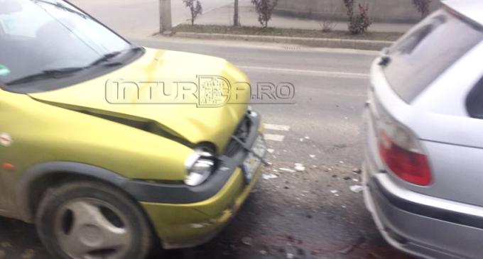 ACCIDENT la trecerea de pietoni de pe strada Ștefan cel Mare.