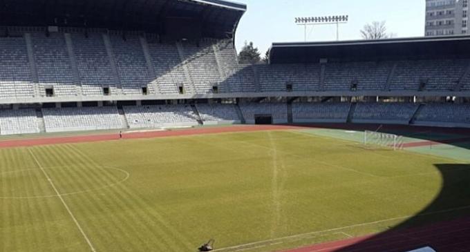 Gazonul de pe Cluj Arena se prezintă în condiții excelente pentru meciul cu Danemarca