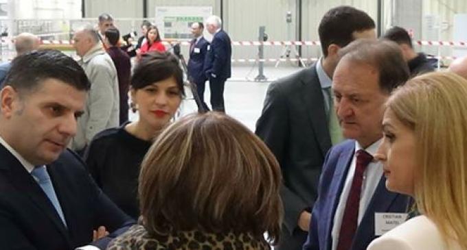 Primarul municipiului Turda, Matei Cristian, s-a întâlnit cu Ministrul Mediului de Afaceri