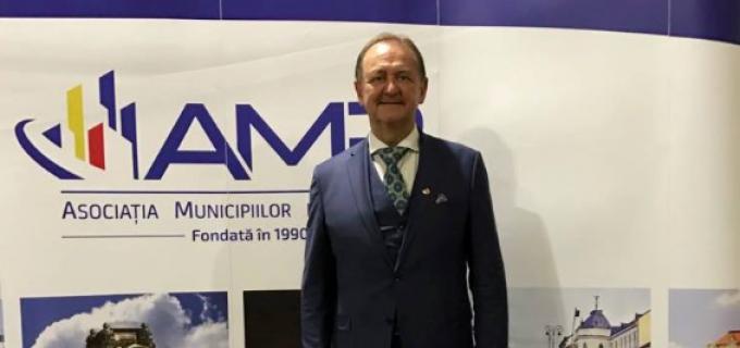 Primarul municipiului Turda, Matei Cristian, participă astăzi la Adunarea Generală a Asociației Municipiilor din România